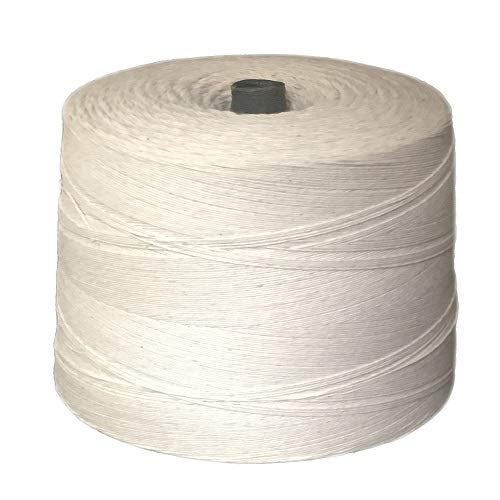 T.W . Evans Cordage 07-040 4 Poly Cotton Twine 2.5-Pound Cone, 12000-Feet