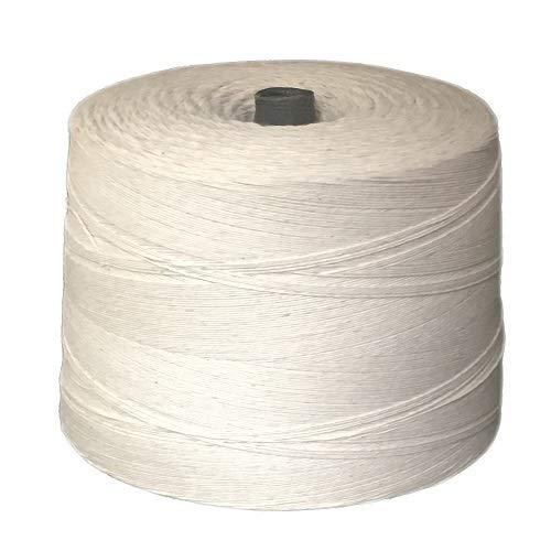 T.W Evans Cordage 07-040 4 Poly Cotton Twine 2.5-Pound Cone, 12000-Feet