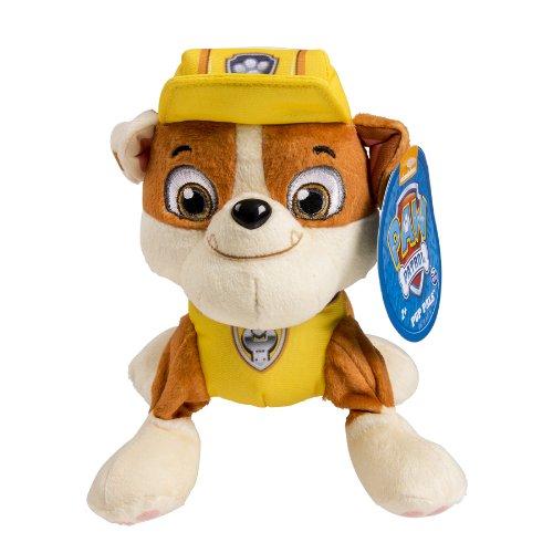 Paw Patrol - Pup Pals - Rubble - Mini Peluche La Patrulla Canina: Amazon.es: Juguetes y juegos