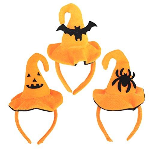 Zhuhaitf 3X children Headpiece Headband For Halloween Masked Ball Costume -