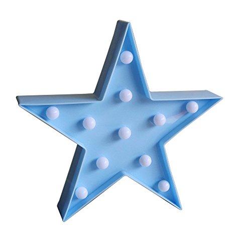Blue Led Star Lights in US - 4