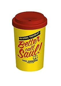Better Call Saul taza de viaje de cerámica, Multi-color
