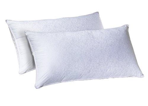 Sleep Innovations Dreamaway Almohada de fibra de gel, juego de 2, King, 1
