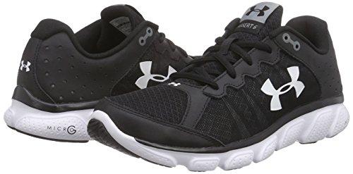 Black Ua 6 homme G Noir Chaussures Under Armour Assert Micro de course qXPFHxR