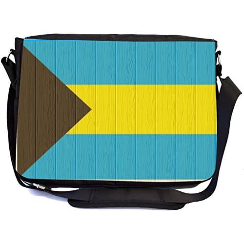 6878a110f3e4 Rikki Knight Bahamas Flag on Distressed Wood Design Multifunction ...