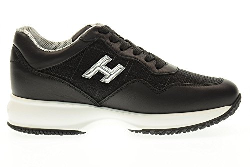 HOGAN women low sneakers HXW00N0W661FQJ0353 INTERACTIVE SNEAKERS Black clearance cheap real outlet 2015 outlet order online Qgu6R