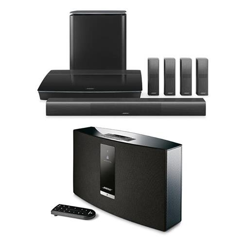 Click to buy Bose Lifestyle 650 Home Theater System with OmniJewel Speakers, Black - With Bose SoundTouch 20 Series III Wireless Music System Black - From only $3999