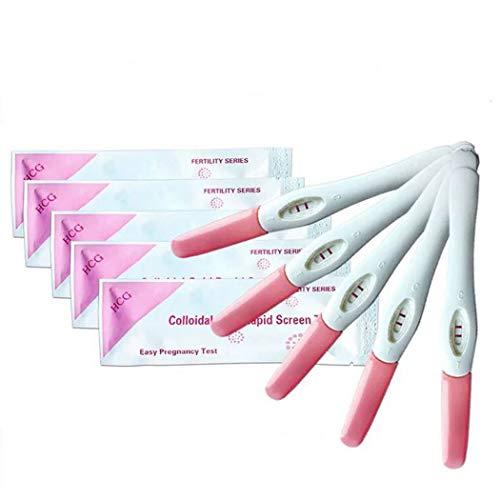 LiaoTI Rapid Detection Pregnancy Test, 5 Count Pregnancy Test Rapid Detection White