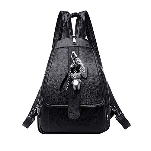 Sling Crossbody Bag Strap color Backpack Chest Shoulder Adjustable With Waterproof B Size Pack Black 5Xwpxafq