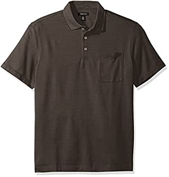 Van heusen men 39 s jacquard short sleeve polo at amazon men for Van heusen men s short sleeve dress shirts