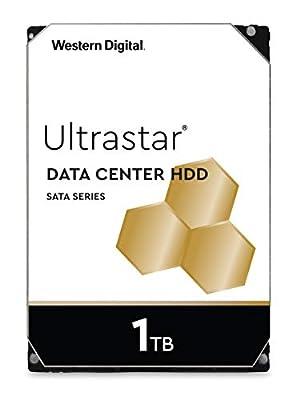"""Western Digital 1TB Ultrastar DC HA210 7200 RPM SATA 6.0Gb/s 3.5"""" Data Center Internal Hard Drive - OEM Model 1W10001"""