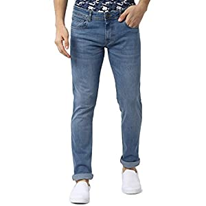 Peter England Men's Slim Fit Jeans