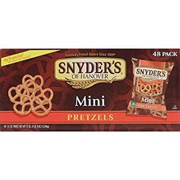 Snyder's Mini Pretzels (1.5 oz., 48 ct.)