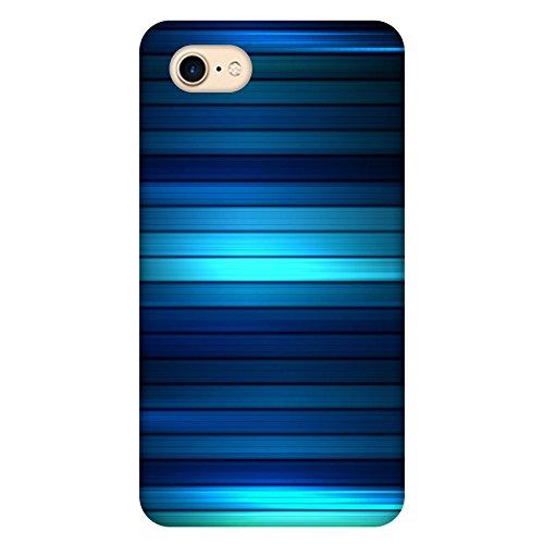 Coque Apple Iphone 7 - Lignes de bleus