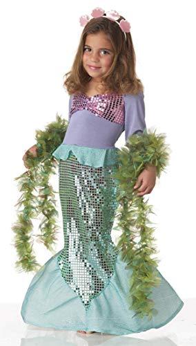 Lil' Mermaid Girl's Costume, Medium, Multicoloured for $<!--$10.79-->