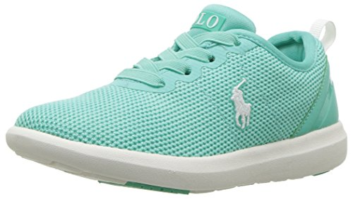 Polo Ralph Lauren Kids Baby kamran Sneaker, Aqua Mesh, 7 Medium US - Girl Ralph Lauren
