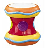 Kidoozie Flash Beat Drum - with Lights Sounds and Music for Ages 12 Months and Up