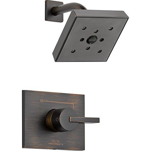 Delta Faucet T14253-RBH2O Vero Monitor 14 Series Shower Trim, Venetian Bronze (Delta Single Handle Shower Faucet Temperature Setting)
