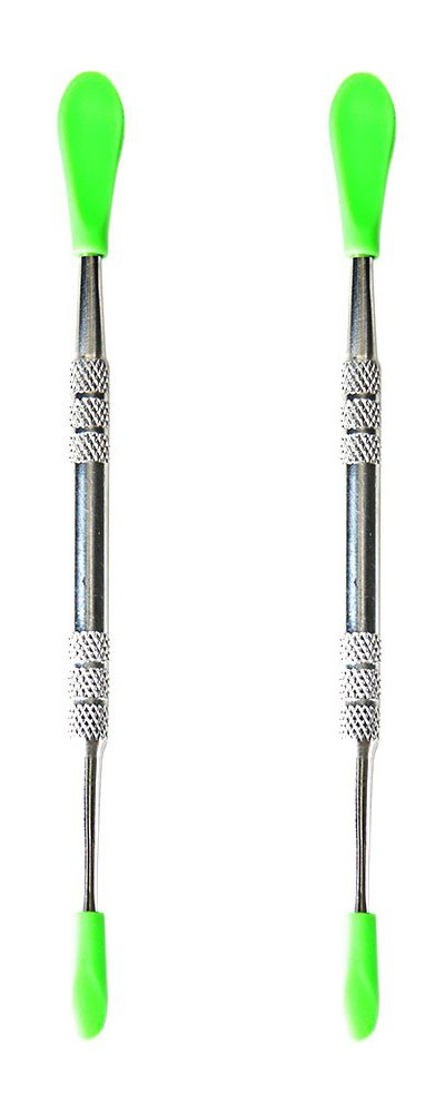 2-pack Stainless Steel Carving Tool with Silicone Tip Covers - Major Key to Success