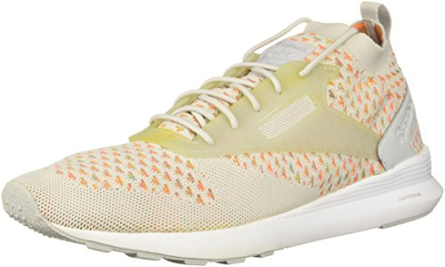 (Reebok Men's Zoku Runner M Sneaker, Skull Grey/Guava Punch/Brown, 9 M US)