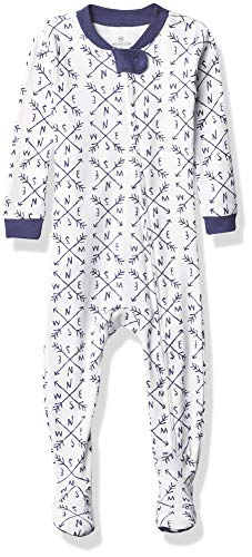 HonestBaby Baby Organic Cotton Snug-Fit Footed