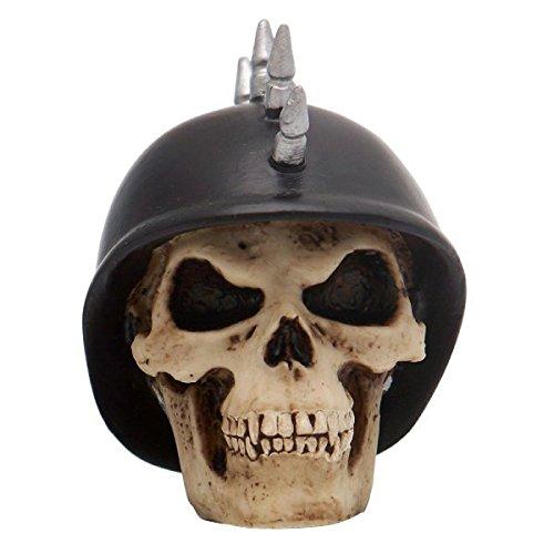 American Shifter 33 Mohawk German Helmet Skull Custom Shift Knob