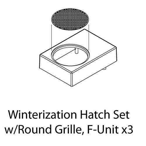 Review HO Winterization Hatch Set