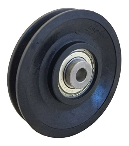 CFF FIT Gym Cable Pulley - 95mm Premium Bearing Nylon Pulley ()