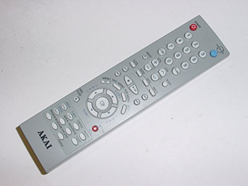 Akai 00265A DVD Player System Remote Control for CFTD2083, CFTD2083T, CXM2785TPX/XAA, CXN2085, CXN2085TP, CXN2085TPX, CXN2085TPX/XAA, PR1905X101, CXM2785, AA5900265A, CFTD2083TX, CFTD2785/TV