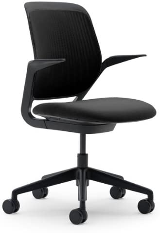 Steelcase Cobi Licorice Fabric Chair