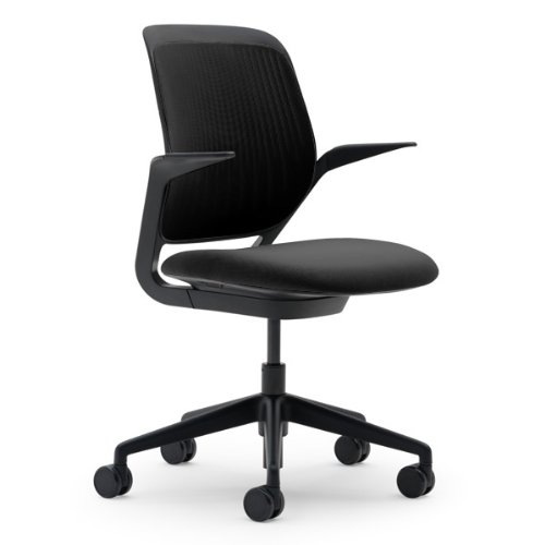 Steelcase Cobi Chair, Licorice Fabric