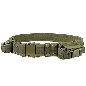 CONDOR Tactical Belt (Olive Drab, Up to 44-Inch Waist)