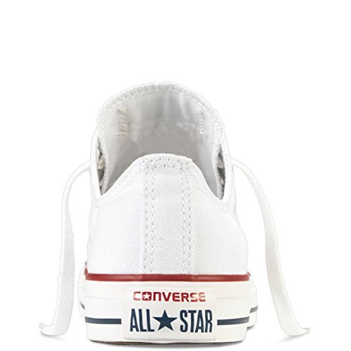 Converse Unisex Chuck Taylor All Star Ox Low Top Classic Optical White Sneakers - 6.5 B(M) US Women / 4.5 D(M) US Men by Converse (Image #3)