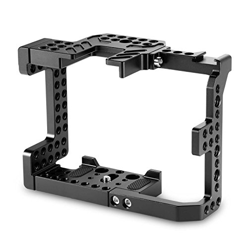 SmallRig Camera Stabilizer Cage for A7II A7RII A7SII ILCE-7M2/ILCE-7RM2/ILCE-7SM2 Camera - 1660 by SmallRig