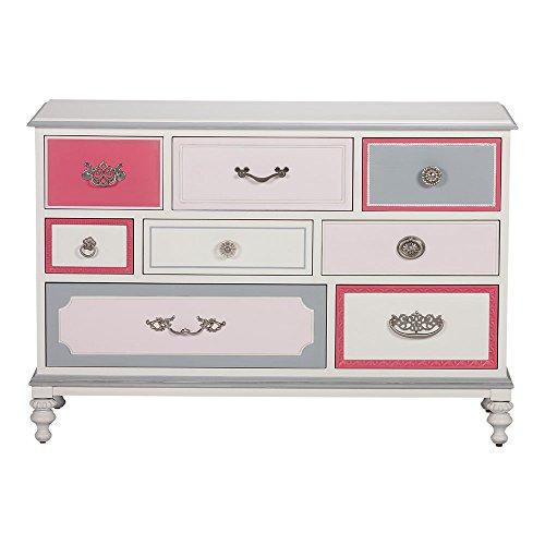 Ethan Allen | Disney Wonderland Dresser, Wonderland Pink (Dresser Disney)