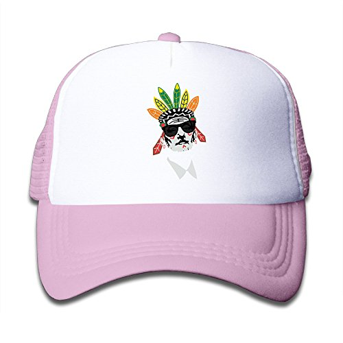 Price comparison product image Baboy Bill Murray Indian Black Girl's&Boy's Mesh Cap Sports Running Pink