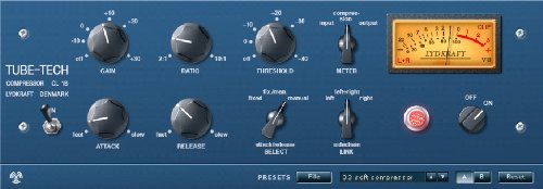 TC Electronic Tube-Tech CL 1B Component Modeled Version of the Legendary CL-1B Tube Compressor for Pro Tools