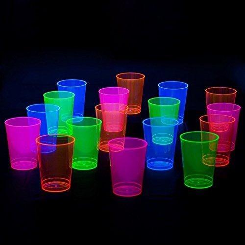 Party Essentials Hard Plastic 10 Ounce Party Cups Tumblers