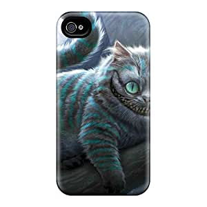Iphone 6plus Wxc17633kHTO Support Personal Customs High Resolution Cheshire Cat Skin Scratch Resistant Cell-phone Hard Covers -AnnaDubois