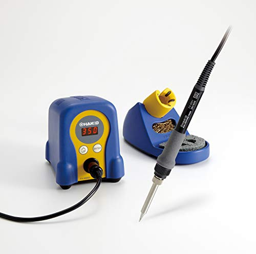 - Hakko FX888D-23BY Digital Soldering Station FX-888D FX-888 (blue & yellow)