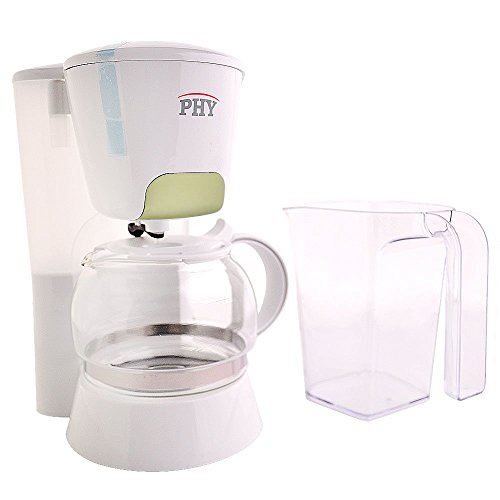 PHY 4-Cup/0.6L Switch Coffee Maker / Coffeemaker with Glass Carafe & Permanent Filter & Semi ...