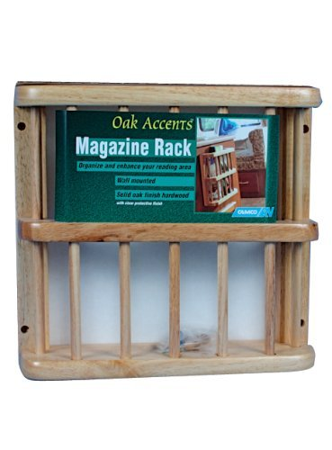 Camco 43411 Oak Accents Magazine Rack by Camco