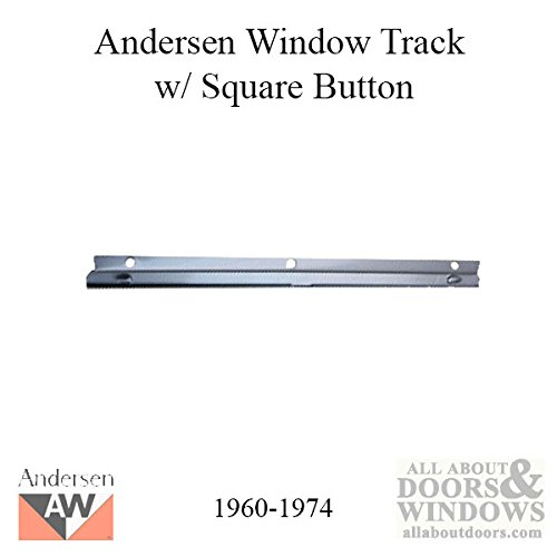 Andersen Window - Operator Channel / Track with Square Button