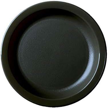 Cambro 65CWNR110 Camwear Black Narrow Rim 6-9/16