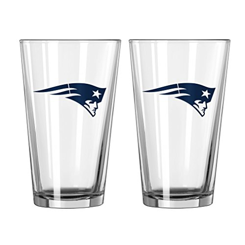 New England Patriots Beer - Boelter Brands NFL New England Patriots Game Day Pint, 16-ounce, 2-Pack