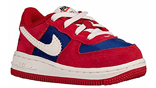 Pictures of Nike Force 1 TD Gym Red/Sail- Gym Red/Sail/Deep Royal Blue 1