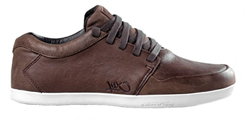 K1X LP Low Coffeebean Brown Black White Mens Trainers Brown Size: limited edition online visit for sale c7Z2L