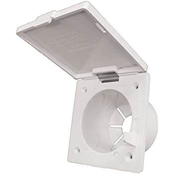zebra rv re147p polar white cable hatch automotive. Black Bedroom Furniture Sets. Home Design Ideas