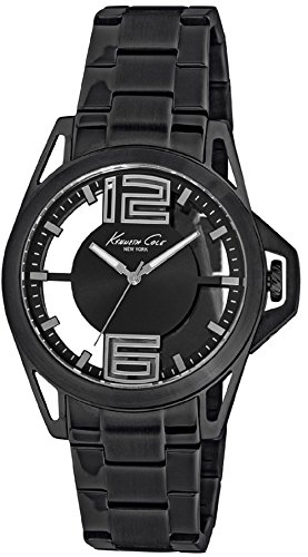 Kenneth Cole New York Men's 'Transparency' Quartz Stainless Steel Dress Watch (Model: 10022527)