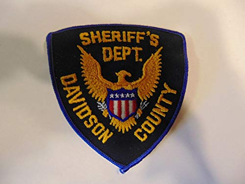 (Law Enforcement Patch Police Sheriff's DEPT Davidson County Tennessee Older)